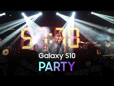 Anitta  Galaxy S10 Party COMPLETO