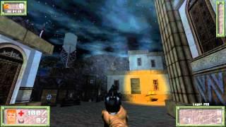 Doom2: Wolfendoom, Blade of Agony - First Mission - 1080p 60fps