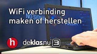 Wifi verbinding maken of herstellen