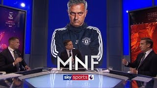 Do Neville and Carragher think Mourinho has a future at Man United? | MNF