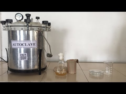 Autoclave = Sterilization Process Of Glass Wares And Nutrient Media (HINDI) By Solution Pharmacy