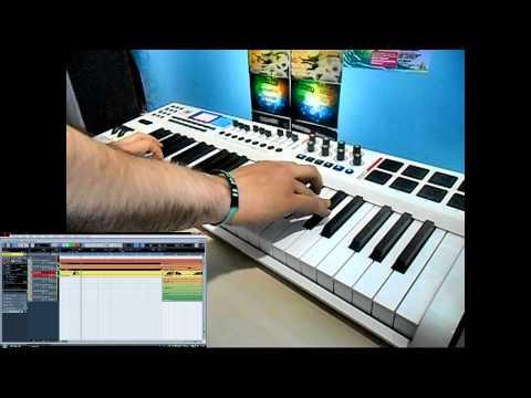 M-Audio Axiom Pro 49 - My Home Studio - Rap Beat 2 by Pokki DJ