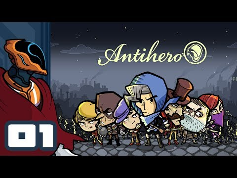 Let's Play Antihero - PC Gameplay Part 1 - This Is My City To Burgle, Not Yours!