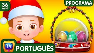 ChuChu TV Policia Ovos Surpresa - Episodio 13 - Salvando os presentes surpresa do Natal (Coleção)