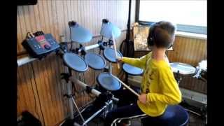"Vincent ""You Make My Dreams Come True"" Hall and Oates Drum Cover"