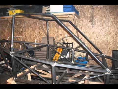 Piranha buggy 2 seats build part 1