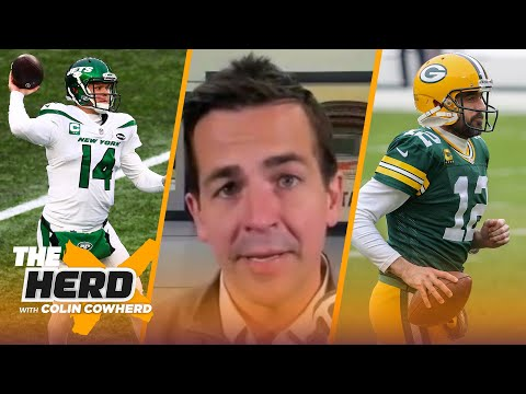Albert Breer on Sam Darnold trade, 49ers' & Falcons' NFL Draft plans, Aaron Rodgers   NFL   THE HERD