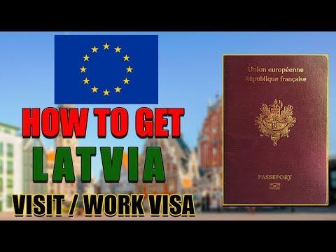 How To Get LATVIA Visit Visa | Business Visa | Citizenship