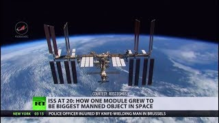 To the moon and back: ISS marks 20th year of space co-operation