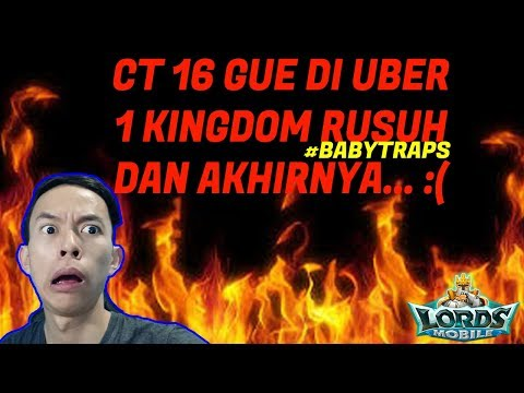 DI UBER 1 KINGDOM HAMPIR ZERO | JANGAN DI TIRU | LORDS MOBILE INDONESIA |PART 2