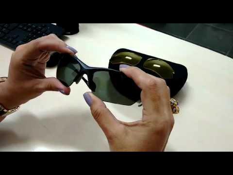 b2a4b3155 Como encaixar lentes do óculos de sol de Troca de - YouTube