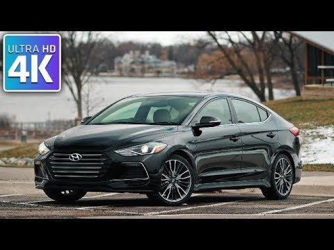 2017 HYUNDAI ELANTRA LIMITED PZEV IN DEPTH WALKAROUND TOUR INTERIOR EXTERIOR ENGINE TRUNK