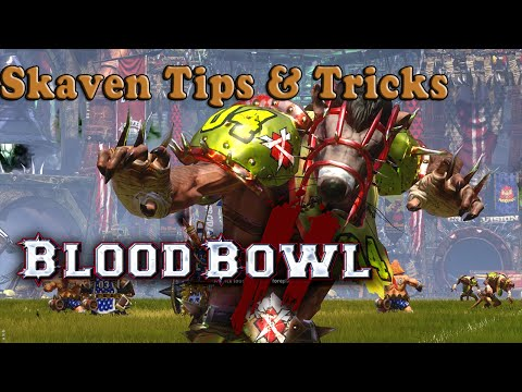 Skaven Coaching : Starting Lineup, Tips & Tricks [Blood Bowl 2]