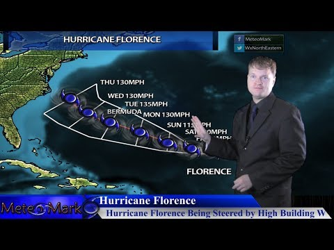 Hurricane Florence Has US East Coast & Bermuda On Watch,  Invest 92L, Sep 6, 2018