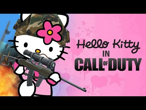HELLO KITTY in CALL OF DUTY!