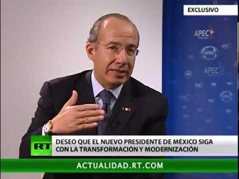 Entrevista exclusiva con Felipe Calderón, el presidente de México