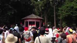 2013年7月14に行われたGFB'13(つくばロックフェス)にて行われた DJHAGA...