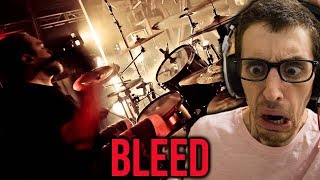 "Hip-Hop Head's FIRST TIME Hearing MESHUGGAH: ""Bleed"" REACTION"