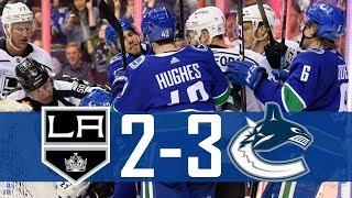 Canucks vs Kings | Highlights (Mar. 28, 2019) [HD]