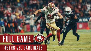 49ers vs. Cardinals | Week 9 | Full Game