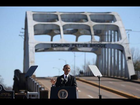 President Obama Commemorates Selma 50th Anniversary