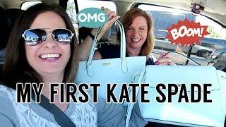 My First Kate Spade Bag
