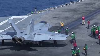 USS John C. Stennis Flight Operations in the Indian Ocean