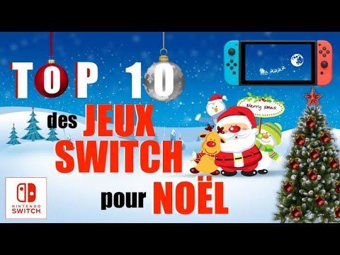Jeux Pour Noel.Top 10 Nintendo Switch Les Jeux Switch Pour Noël Format Boîte