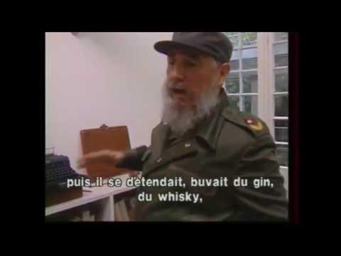Fidel y Ernest hemingway. #FidelporSiempre