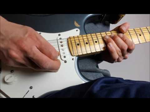 On The Turning Away Guitar Solo Tutorial (Pink Floyd) 2017
