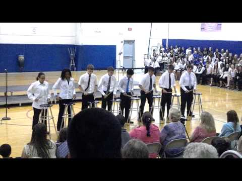 Martinsburg North Middle School 8th Grade Percussion - Stool Pigeon