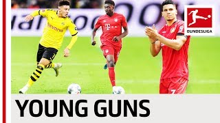 Top 5 Youngest Goalscorers 2019/20 So Far - Sancho, Zirkzee, Davies & More