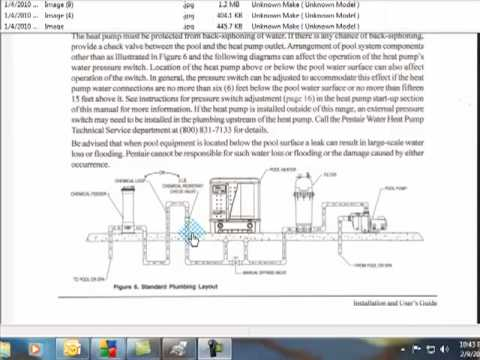 pool and spa plumbing layout mp4