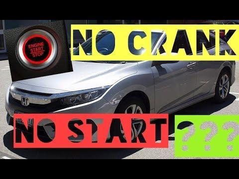 2016 Honda Civic Won T Crank Start Issue One Click Fixed Youtube
