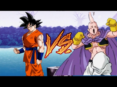 Goku Vs Buu Magro Dragon Ball Super Episodio 85 Youtube