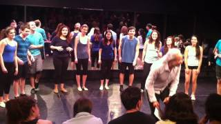 NYU Tisch New Studio Blue Group - LET IT BE A Capella