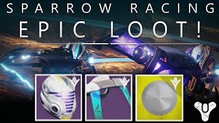 Destiny: Epic Sparrow Racing Loot / SRL Record Book / Bounties - My Thoughts & Opinion