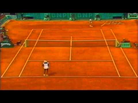Martina Hingis vs Venus Williams 1998 French Open quarterfinals