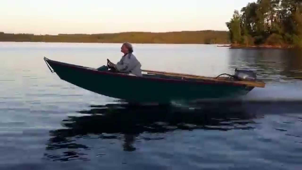 Gv14 Home Built Jon Boat Youtube
