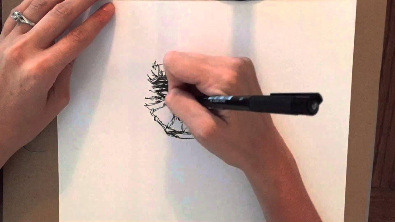 Joker Scribble Drawing : Min scribble sketch of the joker time lapse youtube