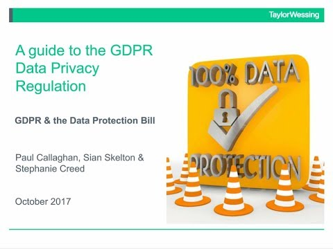 An Employer's guide to the GDPR - a look at the HR and employment law issues
