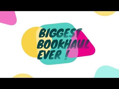 BIG Book Haul #20 Juin 2017 - Spécial Anniversaire