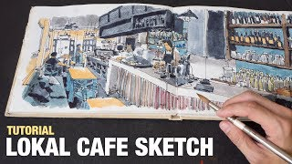 Lokal Cafe Sketch Tutorial