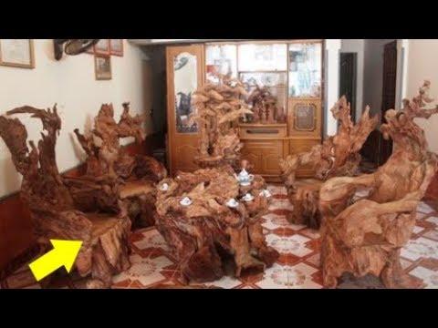 """LẠ: Ngắm nghía những bộ bàn ghế """"siêu đắt đỏ"""" của đại gia Việt!"""