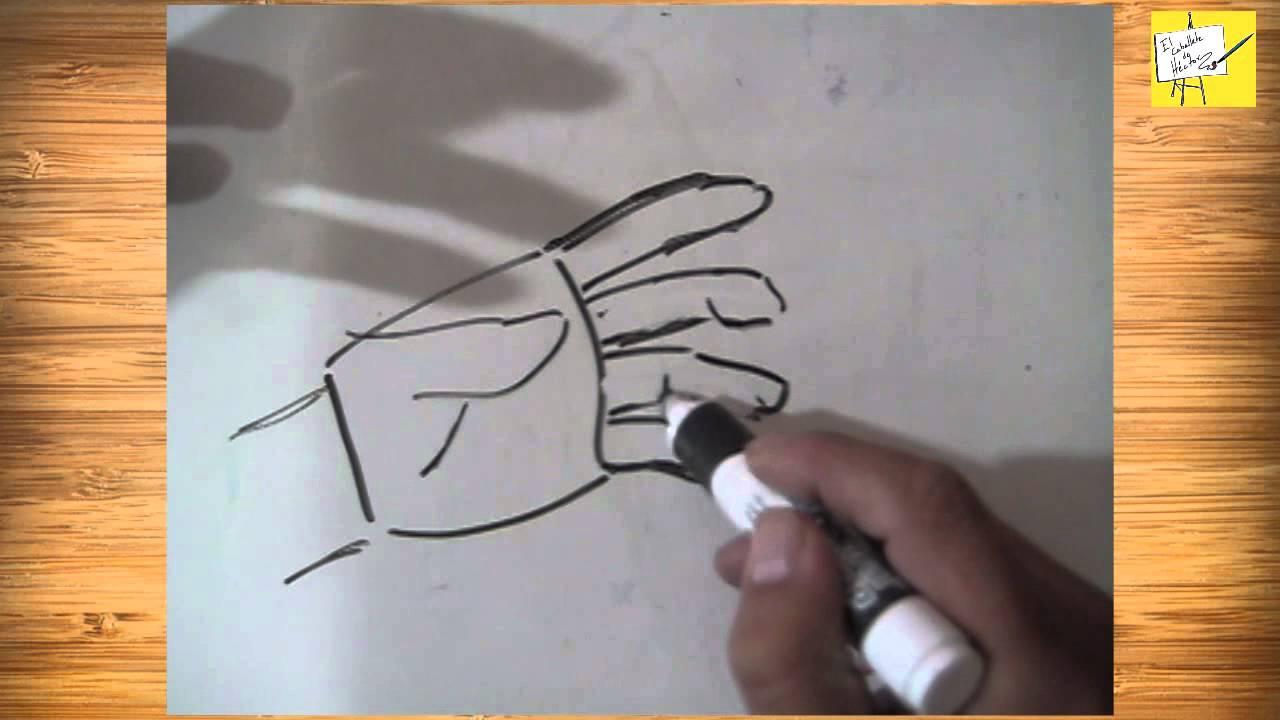 Cómo Dibujar Manos en distintas posiciones, Tutorial, Consejos y ...