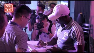 Former Man Utd superstar Dwight Yorke feels the love in KL