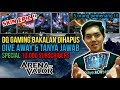 SPECIAL 10K Subscribers!! GIVEAWAY 3 SKIN EPIC + QnA apa ajaa!! DQ Gaming - Dikky Saputra