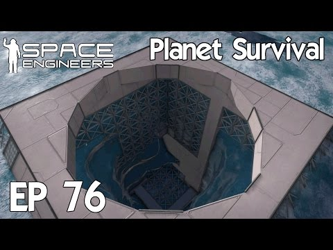 Space Engineers Planets - Ep 76 Bunker Excavation Continues