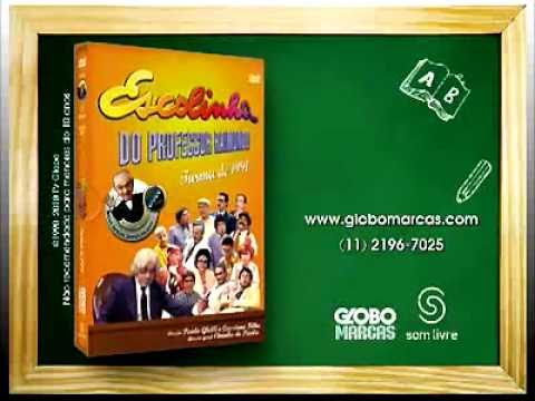 dvd escolinha do professor raimundo completo