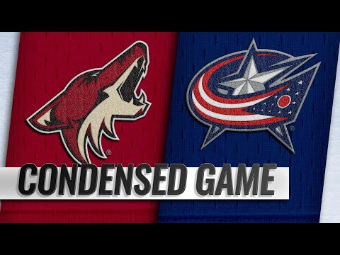 10/23/18 Condensed Game: Coyotes @ Blue Jackets